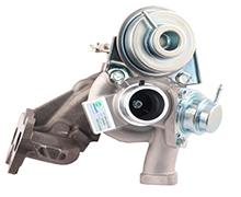TD02H2 Turbocompressore