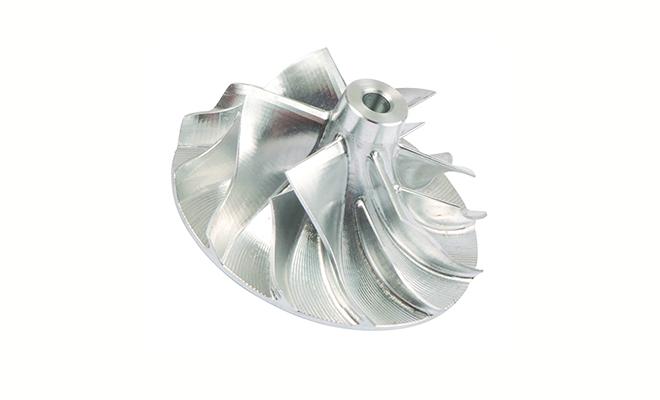 Turbo compressor wheel Melett